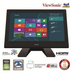 "VIEWSONIC 23"" TN LED Dknm 7ms 1920x1080 RGB+DVI+"