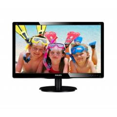 "Philips 18.5"" 196V4LSB2/62 5Ms PARLAK S�YAH LED"