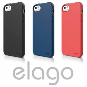 iPhone 5S KILIF SLiKON ELAGO iPhone 5S K�l�f