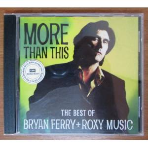 BRYAN FERRY ROXY MUSIC - THE BEST OF CD 2.EL