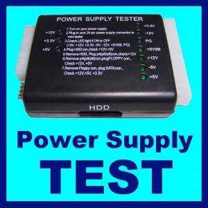 POWER SUPPLY TEST C�HAZI KONTROL TESTER