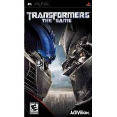 TRANSFORMERS THE GAME PSP SIFIR AMBALAJINDA