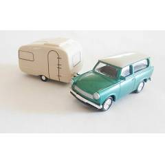 Do�u Alman Seti - Trabant 601 ve Qek Jr - 1/64