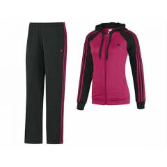 ADIDAS YOUNG KNIT SUIT BLACK-PINK WMNS