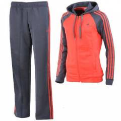 ADIDAS YOUNG KNIT SUIT NAVY-ORANGE WMNS