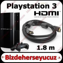Sony Playstation 3 PS3 HDMI Kablo 1.8m 1080P