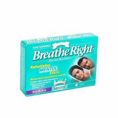 Breathe Right Burun Bantlar�-Mentoll�-B�y�k Bo