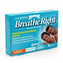 Breathe Right Burun Bantlar�-�effaf-Normal Boy