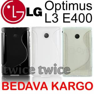 LG Optimus L3 E400 K�l�f S LINE MODEL S�L�KON