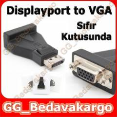 Displayport to VGA �evirici Display port VGA