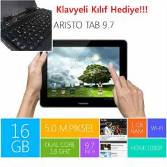 Piranha Aristo Tab 9.7 Tablet PC Klavye Hediye