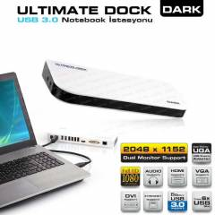 Dark Ultimate Dock Pc&Mac Notebook �stasyonu