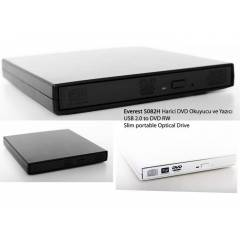 Everest SN-S082H DVD-R/RW/CD-R/RW Usb 2.0 Slim O