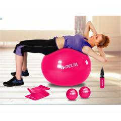 Delta DS 3016 Pilates Seti Top, Pompa, Bant ve