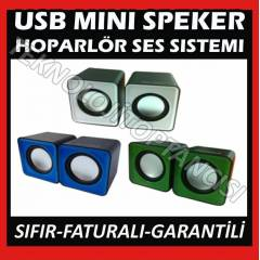 NOTEBOOK LAPTOP ���N M�N� USB SPEAKER 1+1 UCUZ