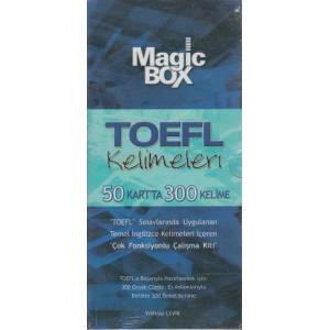 Magic Box TOEFL Kelimeleri (50 Kartta 300