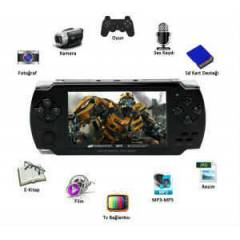 PSP Oyun Konsulu 8 GB 4.3 LCD Ekran ve Multimedy