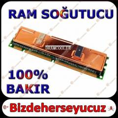 100% Bak�r Ram So�utucu - Memory Cooler