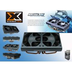 Xigmatek VD964 Battle-Axe Ekran Kart� Fan�