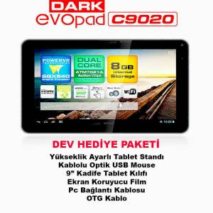"Dark EvoPad C9020 9"" �ift �ek. 8GB Tablet Pc"