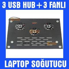 Notebook Laptop So�utucu Fan Laptop Masas� 004