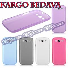 Galaxy S3 K�l�f i9300 ultra ince 0.2 mm Kapak