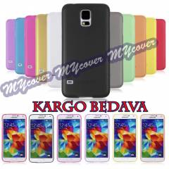 Galaxy S5 K�l�f Ultra ince 0.2 mm Kapak i9600