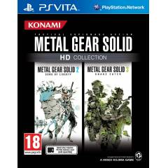 METAL GEAR SOLID HD COLLECTION PS VITA SIFIR