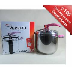 HOME PERFECT BEGONYA D�D�KL� TENCERE 7 LT.