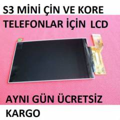 S3 Mini Kore Ve �in Modelleri ��in Lcd Ekran