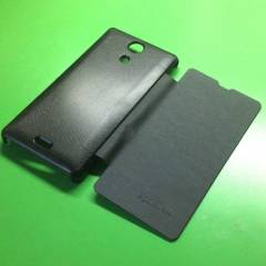 Sony Xperia ZR K�l�f Flip Cover Model+2Adet Film
