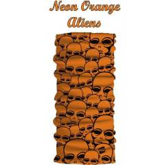 ORANGE NEON FONKS�YONLU NARR BANDANA