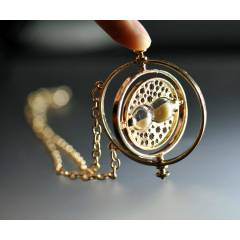 Harry Potter Time Turner Kum Saati Kolye