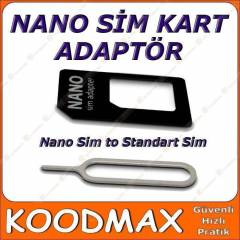 iPhone 5 Nano Sim Kart Adapt�r