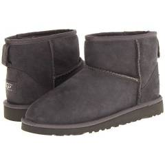UGG Kids Classic Mini Big Kid Grey