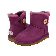UGG Bot - Mini Bailey Button - Sugar Plum
