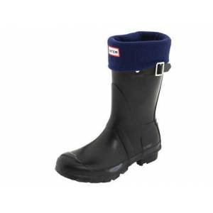 HUNTER K�sa Bot �orab� - Navy Short Welly