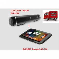 Tablet Pc + Logitech Tablet Speaker OUTLET