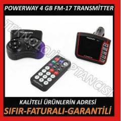 ARABA ���N MP3 PLAYER 4GB TRANSM�TTER