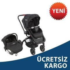 Kraft Twist Air Travel  Bebek Arabas� BLACK