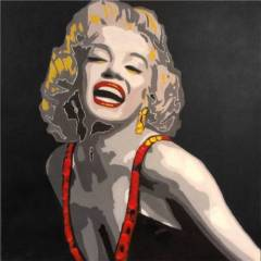 Marilyn Monroe Tablo D4