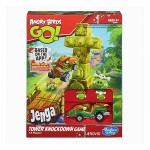 Angry Birds Go! Jenga Tower Knockdown oyun seti