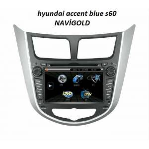S 60 navigold hyundai accent blue  multimedia