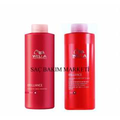 Wella Brilanc Kal�n Telli Boyal� �np+krem 1000ml