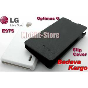 LG Optimus G E975 Slim Yan Flip Cover+3xFilm