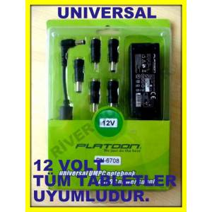 12 VOLT TABLET B�LG�SAYAR TABLET PC ADAPT�R