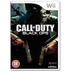 Wii CALL OF DUTY BLACK OPS WII SIFIR