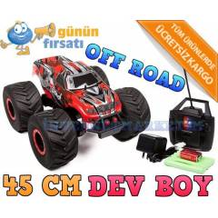 B�Y�K BOY  OFF ROAD JEEP UZAKTAN KUMANDALI ARABA