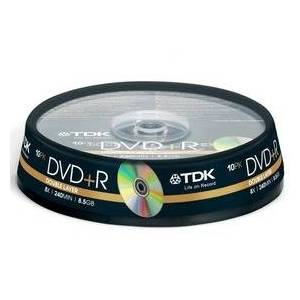 TDK DVD+R Double Layer 8x 8.5GB 10LUKARGO BEDAVA