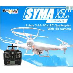 X5-C EXPLORER RC QUADCOPTER + HD KAMERA + 2G MC